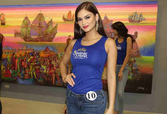 Did Bb. Pilipinas Universe Pia Wurtzbach go out on a date with PNoy