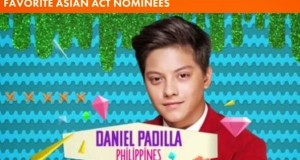 Daniel Padilla Dedicates Global Nickelodeon Award to Kathryn Bernardo