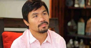 Manny Pacquiao is the Philippines Top Taxpayer for BIR's 2013 Lists