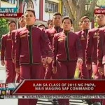 Female Cadet One of the Top 10 in the PNPA Lakandula Class of 2015 Graduates