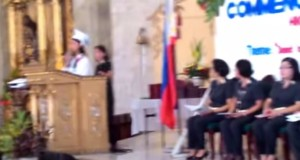 Watch: Interrupted Graduation Speech of Krisel Mallari Went Viral Online