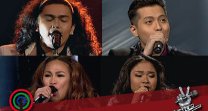 Rence Rapanot & Leah Patricio Failed to Make it to Top 2 of The Voice (Video)