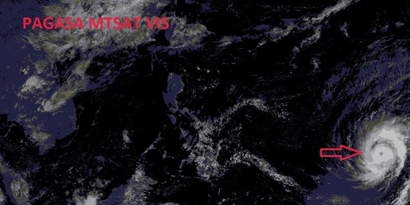 PAGASA Announces TYPHOON MAYSAK To Enter PAR On Wednesday, April 1.