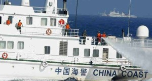 Chinese Coast Guard Fired Water Cannons to Filipino Fisherman at Scarborough