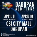 PBB Dagupan City Auditions to be Held on April 9 & 10, 2015 (Video)