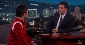 Jimmy Kimmel Sings Duet with Pacquiao's Entrance Song Asks to be With his Entourage