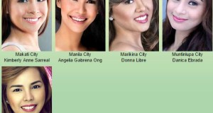 Miss Philippines-Earth Official Candidates from National Capital Region (NCR)