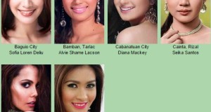 Miss Philippines-Earth Official Candidates from North and Central Luzon
