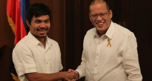Pres. Aquino Advices Pacquiao to Quit, Enjoy