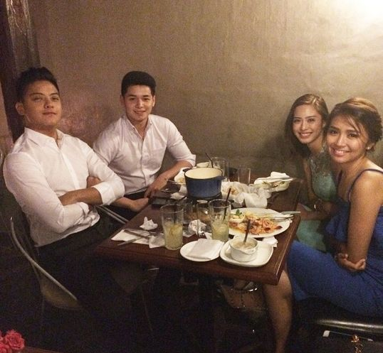 Philippine Viral News And Videos Home: KathNiel Double Date Photo Went Viral Online