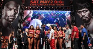 Pacquiao vs. Mayweather Weigh-In Videos & Photos