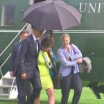 How President Obama Showcased His Being a Gentleman While Raining