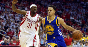 Curry Injury Scare Becomes Rockets' Advantage, Wins 128-115