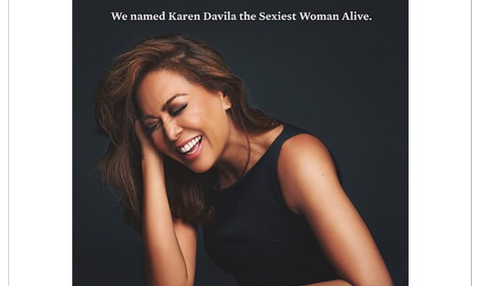 Esquire Philippines Names Catriona As 2019 Sexiest Woman: Esquire Names Karen Davila 'Sexiest Woman Alive
