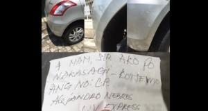 Viral: Honest Driver Says Sorry Through Letter