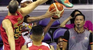 Barako Bulls Cager Summoned by PBA for Using Shoe to Block Shot