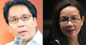 Roxas Urges Poe to be His Running Mate, Senator is Noncommittal