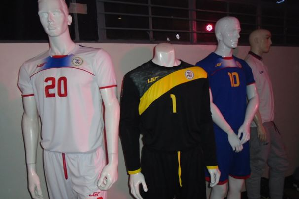 Philippine Azkals Unveiled Newest Kit for the FIFA World Cup ... 789b4213e