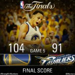 Warriors Defeats Cavs in Game 5 Leads Series 3-2 (Highlights Video)