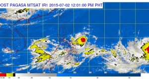 Bagyong Egay: LPA Developed into Tropical Depression (July 2, 2015 Update)