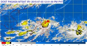Bagyong Egay Storm Signals, Hourly Updates & Forecasts Track (July 3, 2015)