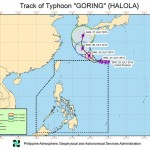 PAGASA: Bagyong Goring to Leave the Philippines Within 24 Hours