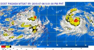 Bagyong Egay Slightly Weakens (Storm Signals & Hourly Updates)
