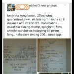 This Guy Received Discount from Jollibee But What He Did Will Make You Angry