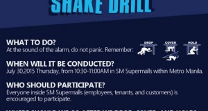 Metro Manila Shake Drill (July 30, 2015) Live Coverage (Photos and Videos)