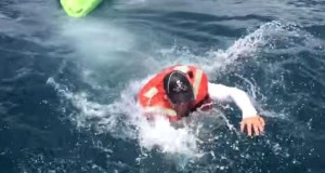 Fisherman Swims for His Life After being Capsized by Bull Shark