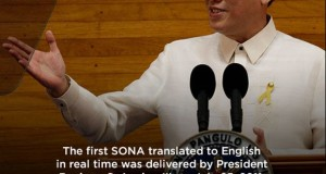 Pres. Aquino's SONA 2015 Full Transcript (English) Released