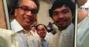 Roxas Camp Urging Pacquiao to Leave Binay, UNA