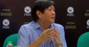 Sen. Bongbong Marcos Considered to Run for a Higher Post in 2016