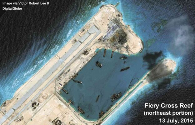 China Claims They Halted Their Land Reclamation in the ...