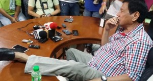 Mayor Rodrigo Duterte Contented with His Salary as Public Official