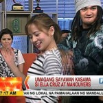 "Watch: Ella Cruz Dances ""Dessert"" with Manouvers on UKG"