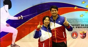 Richard Gomez Wins Gold Medal in Asian Master's Fencing Championship