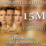 """The Love Affair"" Movie Box Office Income Reaches P15 Million Earnings on First Day"