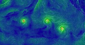 Three Major Hurricanes in the Pacific Ocean Won't Hit the Philippines