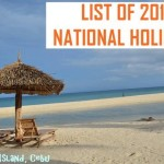 Complete List of Holidays for the Year 2016 Announced by Malacañang