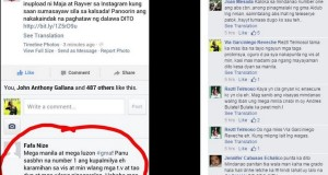 What This Facebook User Commented that Engraged Visayas & Mindanao People