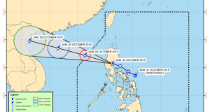 Bagyong Kabayan Makes Landfall (Storm Signals & Hourly Update) October 2