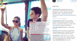 "Kris Bernal Bashed on Instagram by Some AlDub Fans Because of ""Spoiler"" Post"