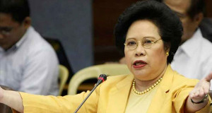 Sen. Miriam Defensor-Santiago Declares Running for President in 2016