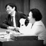 Sen. Marcos Posts Throwback Photo with Sen. Miriam Santiago