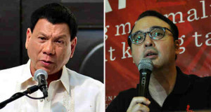 Mayor Rody Duterte Clarifies His Running Mate is Sen. Alan Peter Cayetano
