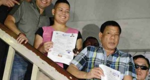 Disqualification Case Filed Against Mayor Duterte After He Filed His COC for President