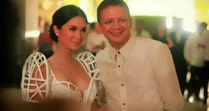 Heart Evangelista Will Not Endorse Husband Sen. Chiz Escudero