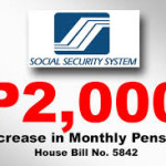 Senate Approved the Bill P2,000 Increase on Monthly Pensions of SSS Members