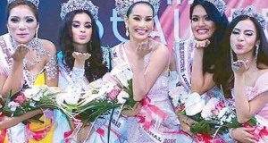 Cebuana Beauty Steffi Aberasturi Crowned as Miss Beauche International 2015 Winner